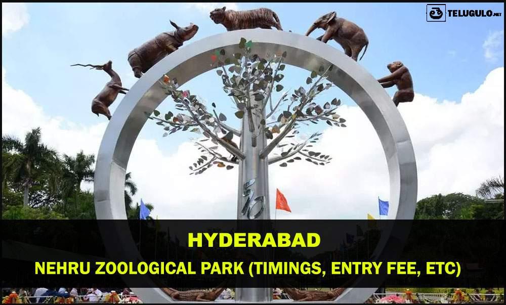 Nehru Zoo Park Hyd