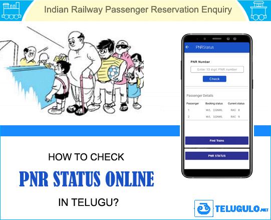 PNR Status in Telugu