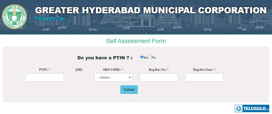 Property Tax in Telugu